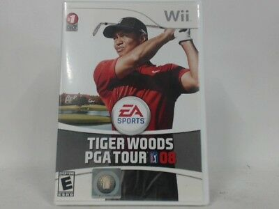 Tiger Woods Pga Tour 08 Wii Complete In Box W/ Manual Cib Very Good