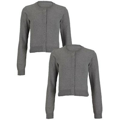 Top Class grey Pack of Two Cardigans BNWT RRP £22 age 7-8