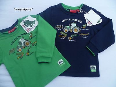 Neu Salt and Pepper Sweatshirt Bauernhof Traktor Fuhrpark Pflug, Kipper % sale