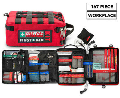 Survival Workplace First Aid Kit 167 piece