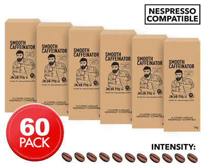 Jacob Pod This One Goes To Eleven Nespresso Compatible Coffee Caps 60pk