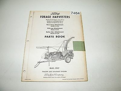 Ford Forage Harvesters 14-137 14-138 14-139 14-140 14-141 14-162 Parts Catalog