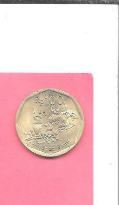 Indonesia Km53 1996 Unc-Uncirculated Mint Old Vintage 100 Rupiah Animal Coin