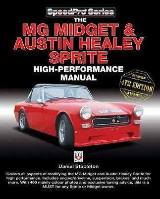The MG Midget & Austin-Healey Sprite High Performance Manual Book~Road~Track~NEW