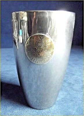 SUPERB ~ SILVER Plated ~ 'FUL 1923' ~ BEAKER Cup ~