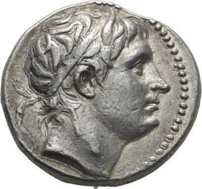Lanz Kings Macedon Demetrios Poliorketes Tetradrachm Pella Silver Greek §edu1998