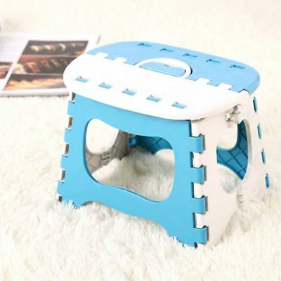 Foldable Portable Stepping Stool Outdoor Toddlers Kids Plastic Bench Step Ladder