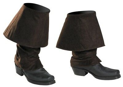 Jack Sparrow Pirates of the Caribbean Men Costume Boot Covers