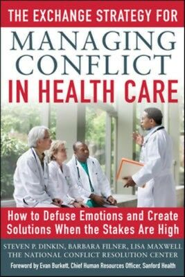 Exchange Strategy For Managing Conflict, 9780071801966