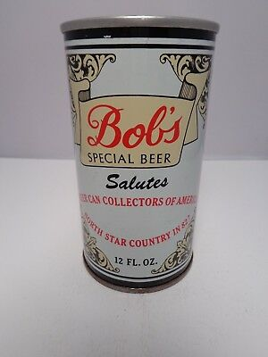 Bobs Bcca North Star Country 1982 Minneapolis Minnesota Beer Can #208-36