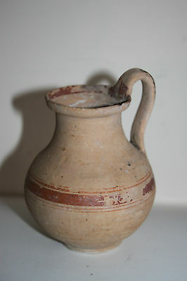 ANCIENT GREEK POTTERY HELLENISTIC OLPE 3rd CENTURY BC WINE JUG