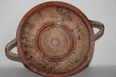ANCIENT GREEK POTTERY KYLIX 5/4th CENTURY BC