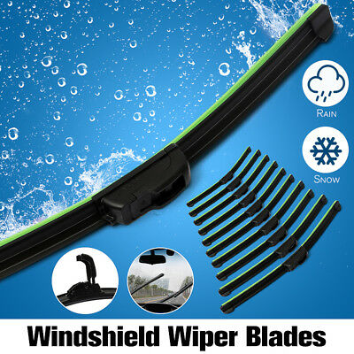Universal Car U-type Frameless Bracketless Rubber Windshield Wiper Blade Brush