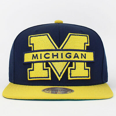 Mitchell & Ness Snapback Cap Michigan Wolverines College Baseball Cap