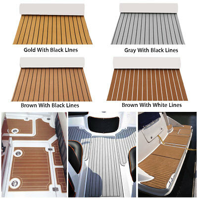 Marine Boat Flooring EVA Foam Yacht Teak Decking Sheet Carpet Floor DIY Pad