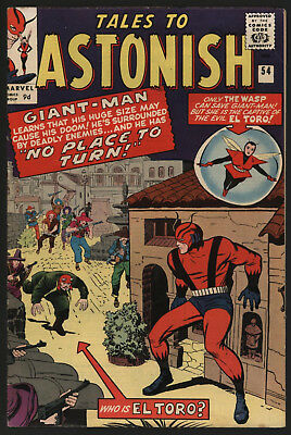 Tales To Astonish 54, Very Glossy, Tight, White Pages