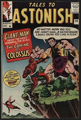 Tales To Astonish #58 Jul 1964, Very Glossy, Tight Structure, Nice White Pages!