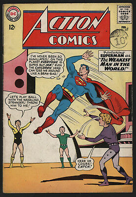 Action Comics #321 Feb 1965. Off White Pages