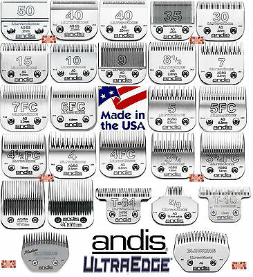 Andis Ultraedge Acero Hojas para Oster , Wahl, Laube Ag / Bg / A5 Alicates