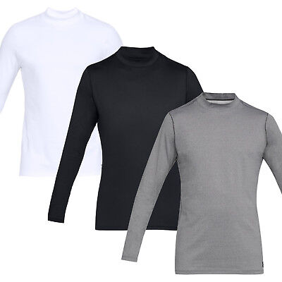 """Under Armour Base Layer Mens Coldgear Thermal Fitted Stretch Mock """"new 2019"""""""