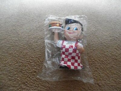 "Frisch's Big Boy bank NOS in sealed plastic. 8"". Funko Products vintage 1999 New"