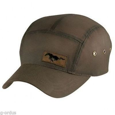 Brand New Ford Mustang Leather Patch Fidel Hat cap! Gt Gt500 Cobra Svt Mach e96512d796c4
