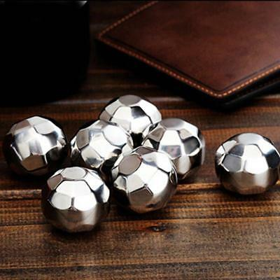Stainless Steel Reusable Ice Cubes Chilling Stones for Whiskey Wine, Beer H