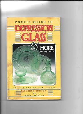 POCKET GUIDE DEPRESSION GLASS PRICE GUIDE by GENE FLORENCE 11th ED