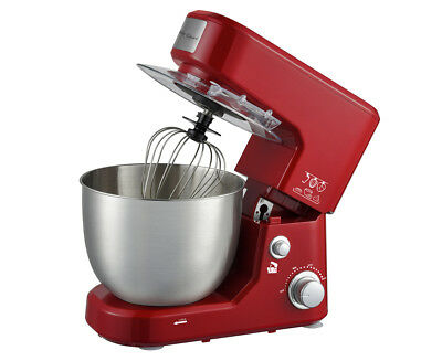 Healthy Choice 1000W Kitchen Stand Mixer - Red