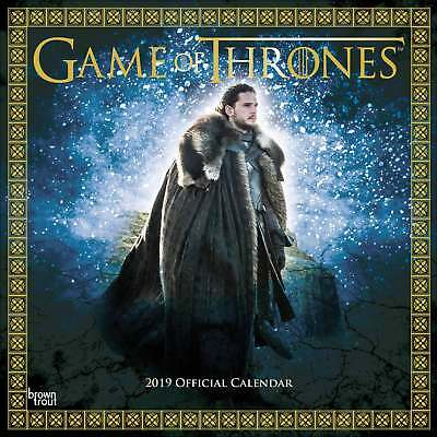 Game of Thrones Calendar 2019 Entertainment Month To View