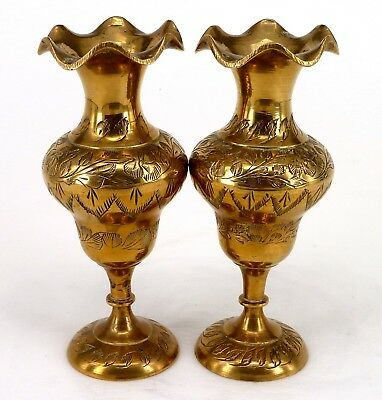 Pair Of Vintage Vases 1930s Made In England No 465 No Damage