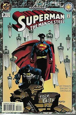Superman The Man of Steel Annual No.3 / 1994 Elseworlds / Mike Mignola Cover