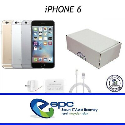Apple iPhone 6 | 16GB 64GB 128GB | CDMA GSM | Silver Gold Gray | GRADE A-C