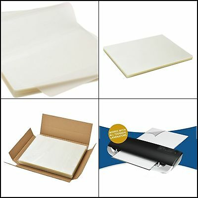"""Scotch Thermal Laminating Pouches Clear Paper Sheet Letter 3 Mil thick 8.9x11.4"""""""