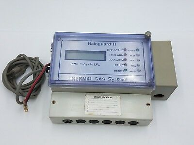 TGS Haloguard II Thermal Gas Systems Refrigerant Leak Detection Monitor Module