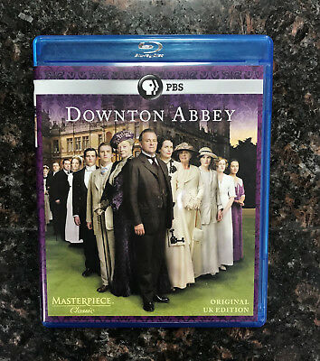 Masterpiece Downton Abbey - Season 1 (Blu-ray Disc, 2011, 2-Disc Set) UK Edition