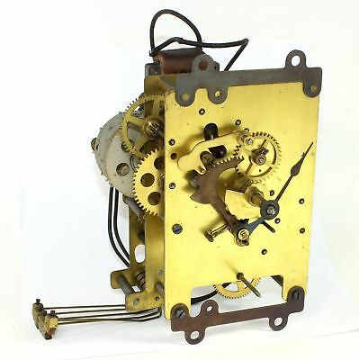 Vintage Electric Westminster Chime Clock Movement - Works! - Kc633