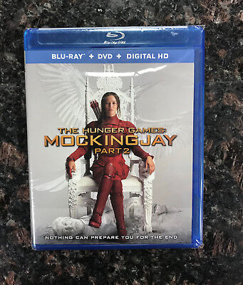 The Hunger Games: Mockingjay Part 2 [Blu-ray + DVD + Digital HD] Factory Sealed
