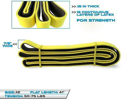 Resistance Loop Bands Easy Effective Full Body Home Workout Gym Core Training