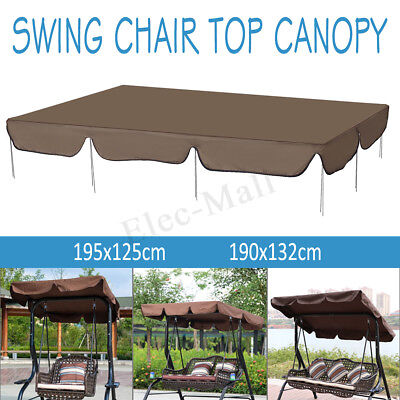 Waterproof Swing Chair Top Cover Outdoor Canopy Replacement Courtyard Hammocks