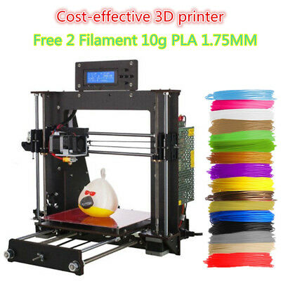 3D Printer KIT Prusa i3 Resume Print 200X200X180mm lowest price factory Outlet