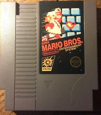 SUPER MARIO BROS. NES (Nintendo Entertainment System, 1985)