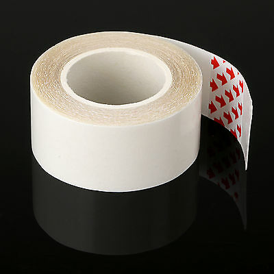 1cm / 2cm x 300cm Double Sided Skin Hair Extensions Weft Roll Adhesive Tape
