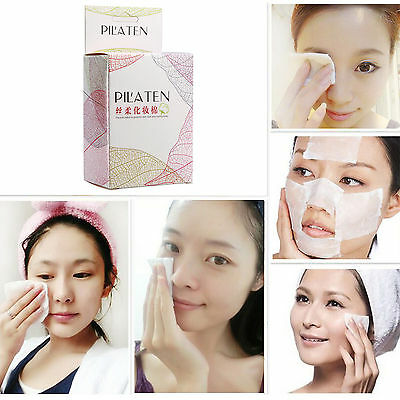 100 PCS Facial Cotton Pads Remover Cleaning Wipes for Makeup Remover