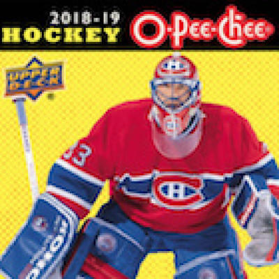 ece09db34 2018-19 O-PEE-CHEE HOCKEY Cards Pick From List 1-250 (18-19 UD ...