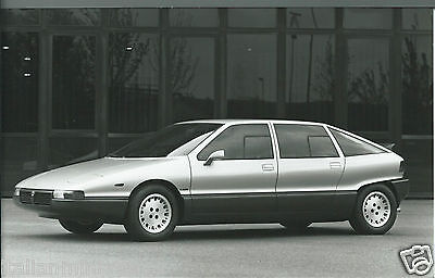 Lancia Medusa Concept Car Giugiaro 1980 Original Press Kit Photograph Foto