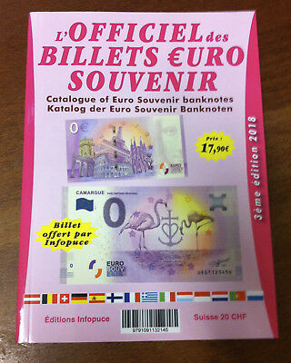 Catalogue Des Billets Euro Souvenir 2015 À 2017 Banknote Euro Schein Paper Money