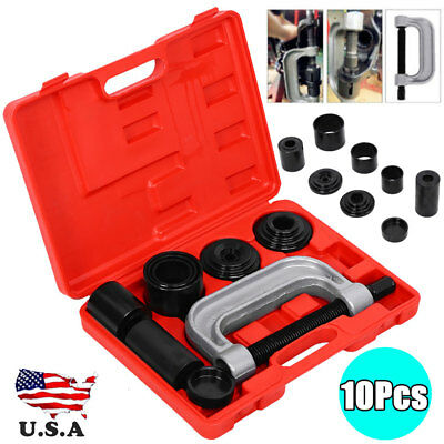 10x 4 IN 1 Auto Truck Ball Joint Service Tool Kit 2WD And 4WD Remover Installer