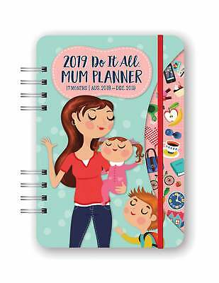Do It All Mum Engagement Planner Diary 2019 Family