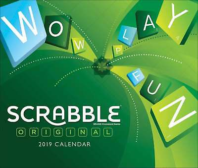 scrabble desk calendar 2019 entertainment page a day